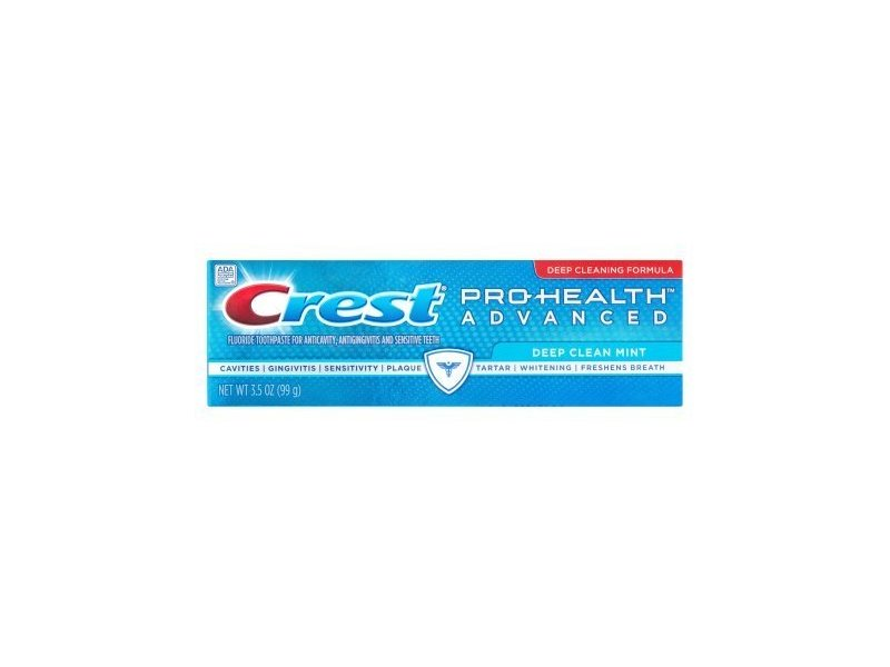 Crest Pro Health Advanced Fluoride Toothpaste, Deep Clean Mint, 3.5 Ounce