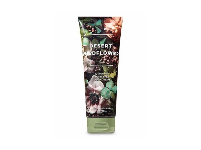 Bath & Body Works Desert Wildflower Ultra Shea Body Cream, 8 Ounce