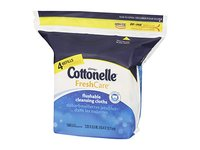 Cottonelle Fresh Care Flushable Moist Wipes Refill, 168ct - Image 7