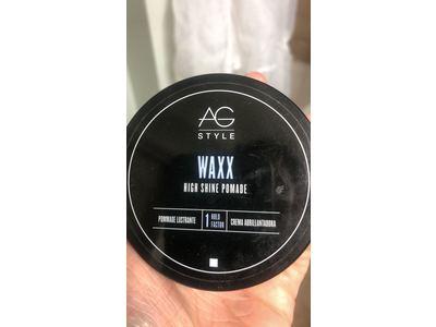 AG Style Waxx High Shine Pomade, 2.5 Fl Oz - Image 3