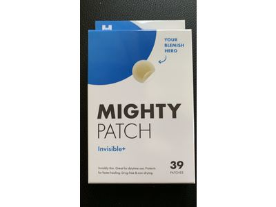Mighty Patch Invisible Hydrocolloid Acne Pimple Patch, Invisible+, 39 count - Image 3