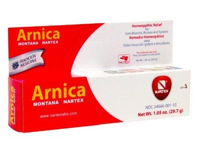 Nartex Arnica Montana Ointment Tube, 1.05 oz
