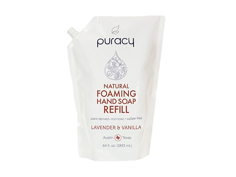 Puracy Natural Foaming Hand Soap Refill Sulfate Free