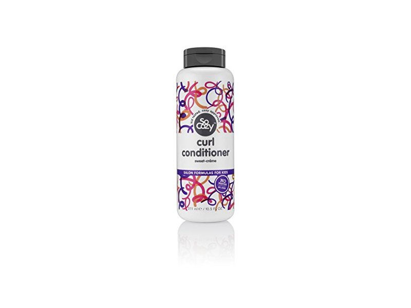 SoCozy Boing Curl Conditioner Sweet-Crème, No Frizz or Fuss, Curls Done Right, 10.5 Fluid Ounce