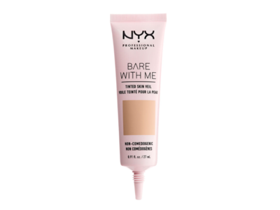 NYX Bare With Me Tinted Skin Veil, Natural Soft Beige, .9 oz