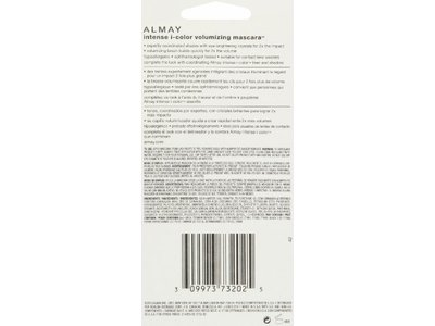 Almay Intense I-Color Volumizing Mascara, 031 Sapphire, 0.4 fl oz - Image 4