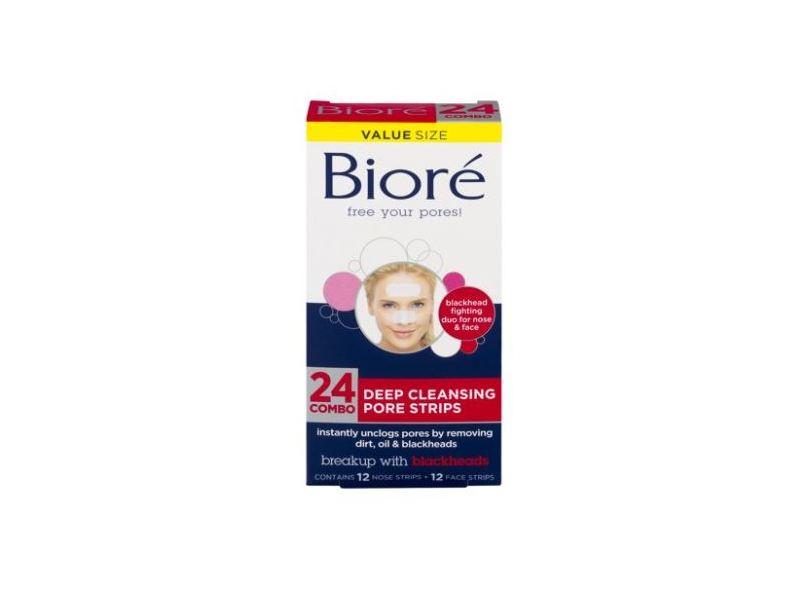 Bioré Deep Cleansing Pore Strips, 24 ct