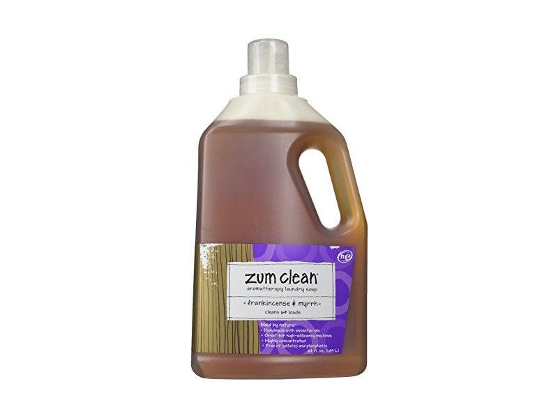 Indigo Wild Zum Clean Laundry Soap Frankincense Myrrh 64