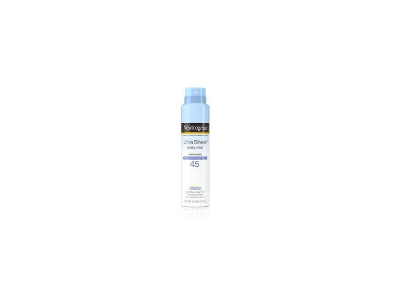 Neutrogena Ultra Sheer Lightweight Sunscreen Spray SPF 45