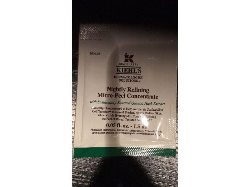 Kiehl's Nightly Refining Micro-Peel Concentrate, 0.05 fl oz
