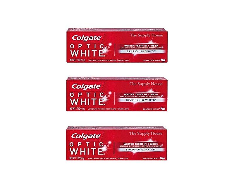 Colgate Optic White Toothpaste - Sparkling White 1.7oz