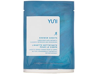 YUNI Beauty Shower Sheets Large Body Wipes, 12 Count - Image 5