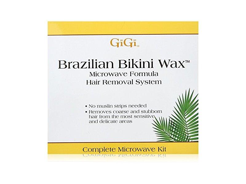 Gigi Kit Brazilian Bikini Wax Microwave Formula
