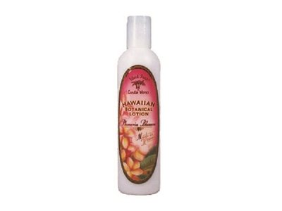 Island Soap & Candle Works Lotion, Plumeria Blossom, 8.5 Ounce