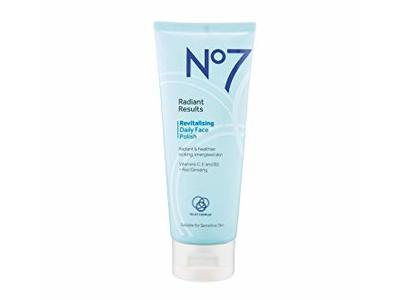 No7 Radiant Results Revitalizing Daily Face Polish, 3.3 fl oz