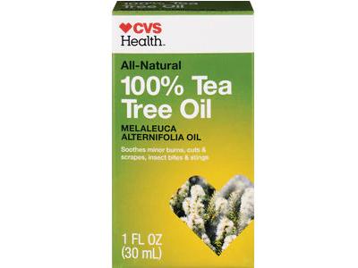 CVS Health All-Natural 100% Tea Tree Oil, 1 fl oz