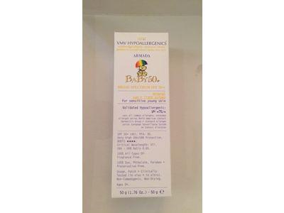 VMV Hypoallergenics Armada Baby 50+ Physical Sunscreen, 1.69 Fluid Ounce - Image 3