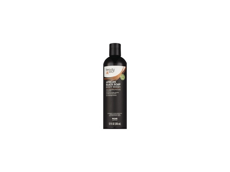 Beauty 360 African Black Soap Body Wash