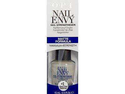 OPI Nail Envy Nail Strengthener, Matte, 0.5 fl. oz. Ingredients and ...