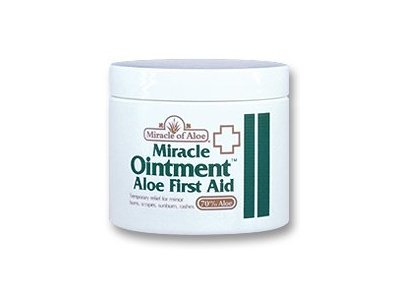 Miracle of Aloe Miracle Ointment First Aid Cream, 2 oz