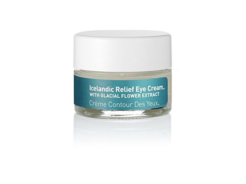 skyn ICELAND Icelandic Relief Eye Cream with Glacial Flower Extract, 0.47 fl oz