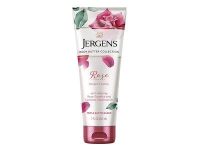 Jergens Body Butter Collection, Alluring Rose, Triple Butter Blend, 7 fl oz / 207 mL