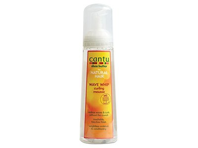 Cantu Shea Butter for Natural Hair Wave Whip Curling Mousse, 8.4 oz