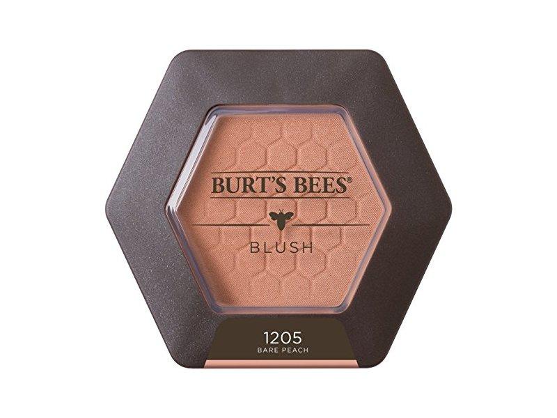 Burt's Bees 100% Natural Blush With Vitamin E, 1205 Bare Peach