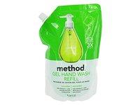 Method Gel Hand Wash Refill, Cocumber, 34 fl oz/1 L - Image 2
