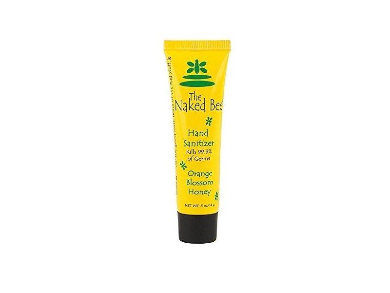 The Naked Bee Orange Blossom Honey Hand Sanitizer, 0.5 Ounce