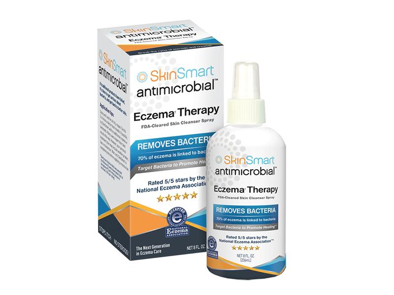 SkinSmart Antimicrobial Eczema Therapy, 8 fl oz (236 mL)