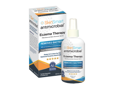 SkinSmart Antimicrobial Eczema Therapy, 8 fl oz (236 mL)