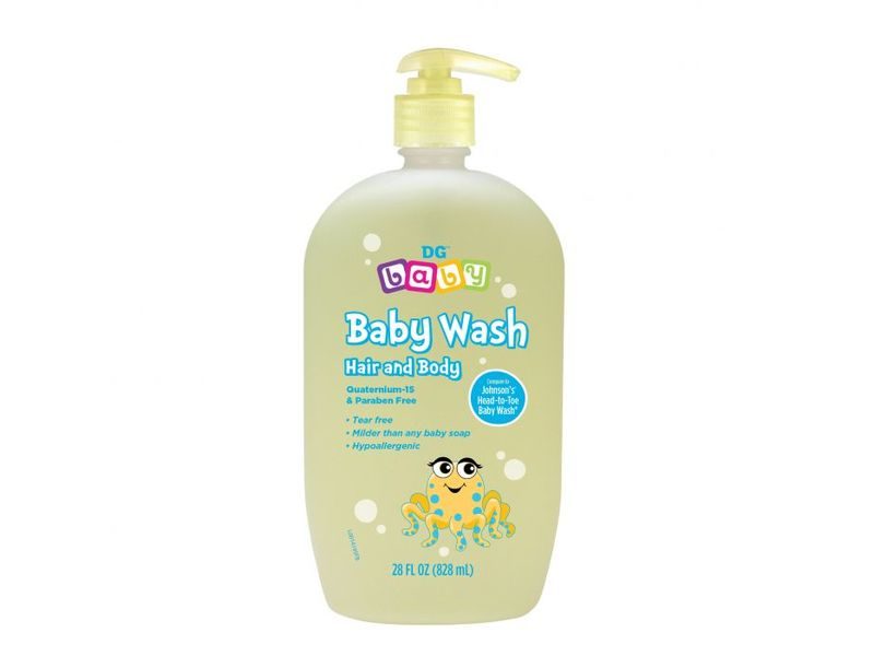 DG Baby Baby Wash Hair and Body, 15 fl oz