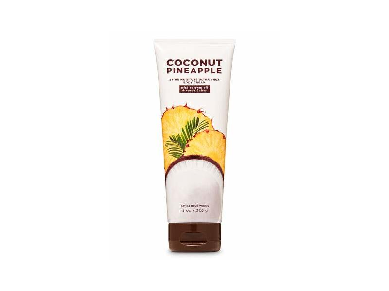Bath & Body Works Coconut Pineapple Ultra Shea Body Cream, 8 oz