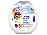Tide Pods Plus Downy Liquid Laundry Detergent Pacs, Free, 58 oz, 61 Count - Image 2