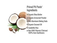Primal Pit Paste All Natural Unscented Deodorant | 2 Ounce Jar - Image 4