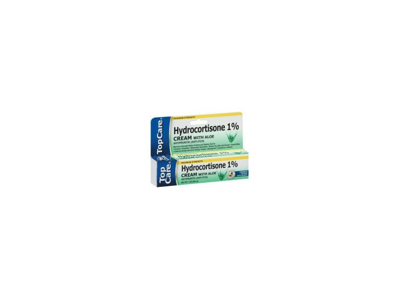 Top Care Hydrocortisone 1% Cream with Aloe (Case of 36)