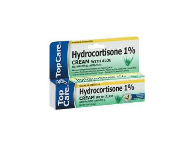 Top Care Hydrocortisone 1% Cream with Aloe (Case of 36)