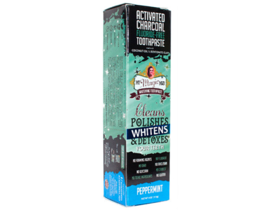 My Magic Mud Activated Charcoal Toothpaste for Whitening, 4 oz