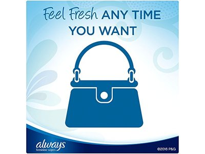 Always Feminine Wipes, Fresh & Clean Scent, 32 Count - Image 5