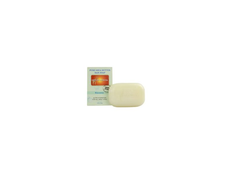 Out Of Africa Organic Shea Butter Bar Soap Unscented -- 4 oz