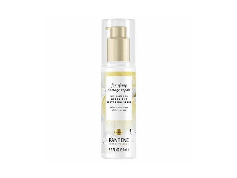 Pantene Nutrient Blends Fortifying Damage Repair Overnight Serum, 3.2 fl oz