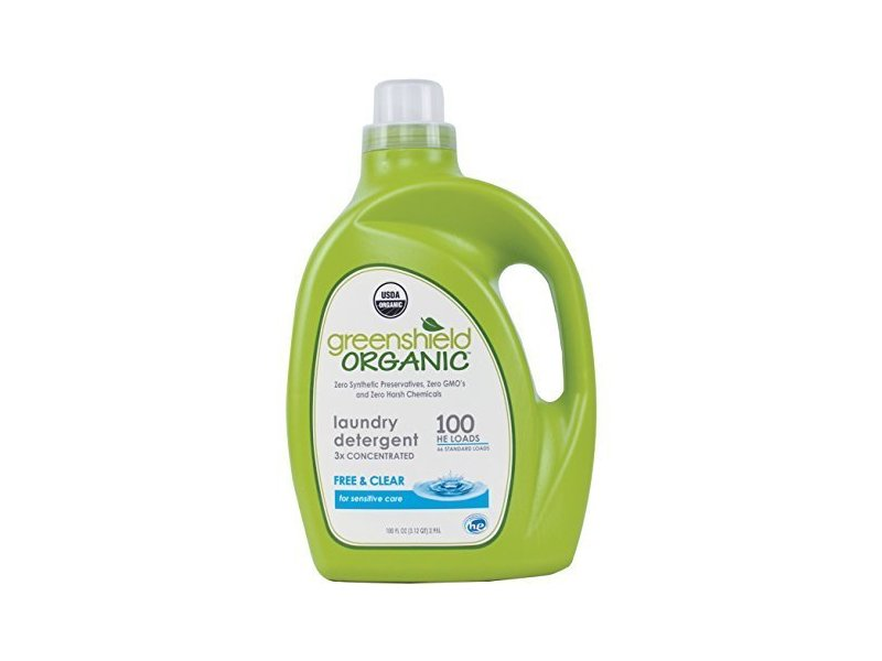 Greenshield Organic Laundry Detergent Free Amp Clear 100