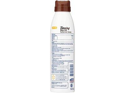 Equate Tanning Dry Oil Sunscreen Spray, SPF 10, 6 Fl Oz - Image 3