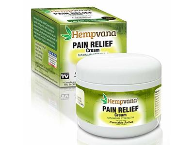 Original Hempvana Pain Relief Cream by BulbHead - The Hemp Cream for Pain Relief & Joint Pain Relief with Cannabis Seed Extract