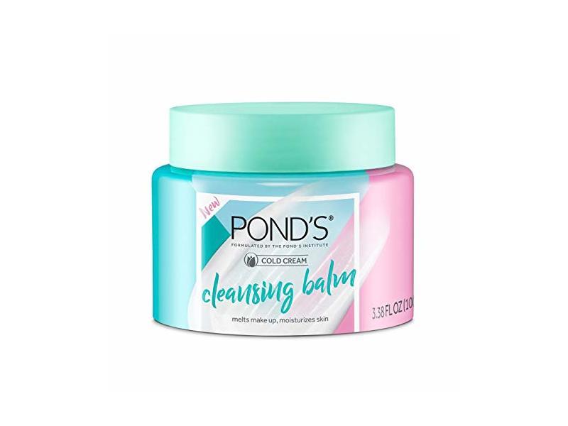 Pond's Cold Cream Facial Cleansing Balm, 3.38 fl oz