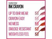 Maybelline Superstay Ink Crayon Matte Longwear Lipstick Makeup, Keep It Fun, 0.04 Oz - Image 10