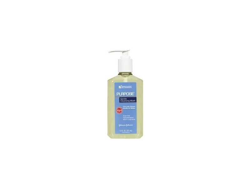 Purpose Gentle Cleansing Wash, 12-Ounce Pump Bottles (Pack of 2)