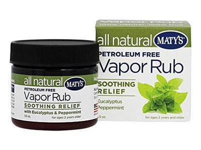 Maty's Healthy Products All Natural Vapor Rub, 1.5 oz