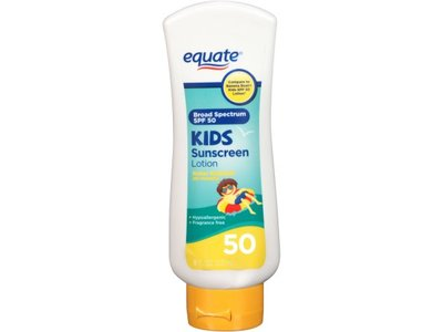 Equate Kids Sunscreen Lotion, SPF 50, 8 fl oz - Image 1